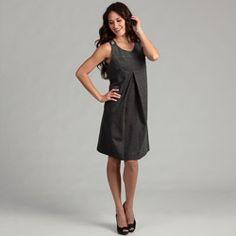 Live A Little Women's Black Jumper Dress - 14492234 - Overstock.com Shopping - Top Rated Live A Little Casual Dresses