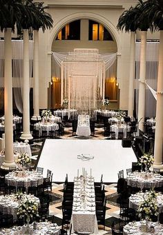 Home Interior Styles Mind blowing black white wedding decor.Home Interior Styles Mind blowing black white wedding decor Wedding Reception Layout, Wedding Reception Decorations, Wedding Receptions, Wedding Themes, Wedding Table, Wedding Events, Reception Seating, Table Decorations, Perfect Wedding