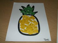 Some great Hawaii themed ideas. I especially like the hibiscus and pineapple paper crafts.