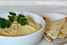 3 ingredient hummus