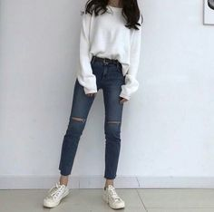 Best korean fashion outfits – Fashion for Woman Beste koreanische Mode-Outfits Mode Korean Street Fashion, Korean Fashion Trends, Korea Fashion, Asian Fashion, Korean Fashion School, Korean Girl Fashion, Korean Street Styles, Korean Spring Fashion, Weird Fashion