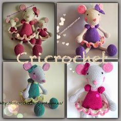 CRICROCHET: Pretty mouse