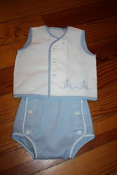 The pattern is from Australian Smocking Issue The Embroidery is from Sew Beautiful Issue Baby Boy Dress, Baby Girl Dresses, Baby Boy Outfits, Kids Outfits, Dress Girl, Toddler Dress, Baby Dress Design, Baby Girl Dress Patterns, Baby Clothes Patterns