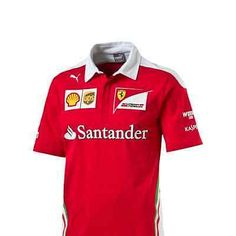 #Scuderia ferrari f1 #official mens team polo #shirt - 2016,  View more on the LINK: http://www.zeppy.io/product/gb/2/111919439651/