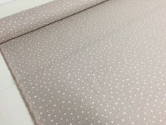 PRE-ORDER Small White spots Snow Vintage Cotton by TheFabricShopUK