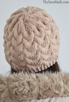 I designed that hat even though the snow was melting and winter was almost over. I suppose there are still some cold days to come. I love...