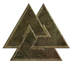 The Norse Way, The Nine Fold Path, symbolized by the Valknut