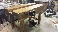 Finished my 2x6 Paul Sellers Workbench