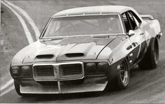 1969 Pontiac Trans Am coupe SCCA Trans Am racer