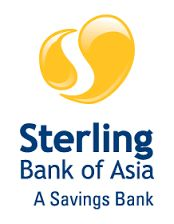 Sterling Bank of Asia started its banking operations on March 30, 2007 in response to the government's mandate to create specialized financial institutions that would support the development and growth of the small and medium enterprise sector.