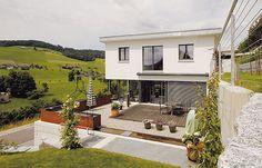 Satteldach Landhaus 129 An diesem Haus erkennt man deutlich die ...