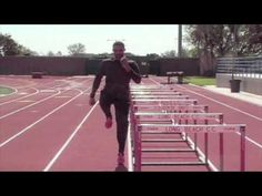 David Warren demonstrates the five key hurdle exercises that develop strength quickness and speed. David Warren is a sprint /hurdle technique specialist and. Running Training Plan, Running Drills, Sports Training, Track Drill, Tight Hip Flexors, Psoas Muscle, Track Workout, Hurdles, Decathlon