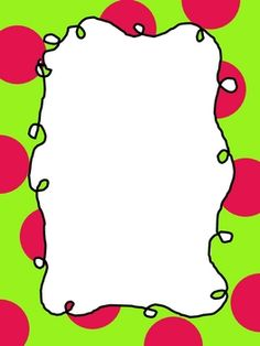 More Big Dot Frames for Commercial or Classroom Use