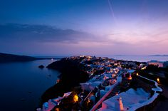 GREECE CHANNEL | What a Great Santorini at night by Wilson Lee
