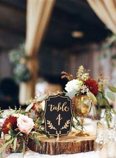 autumn wedding centrepieces mymintphotography.com