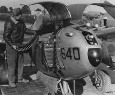 "Robin Olds, who flew P-38s in WWII, commented that the weight of fire it could put on a target was great, but that ""some knothead put the gun camera right beneath the 20mm..."", so gun-camera footage was always terrible.BFD"