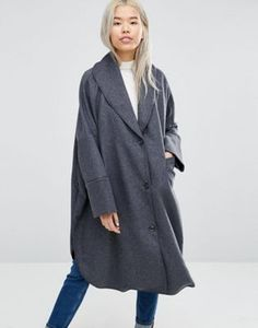 Weekday - Manteau cape long