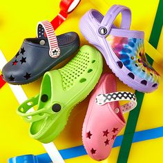 Lots of croc shoes just $5.99 on zulily!! Great shoes for kids during summer!