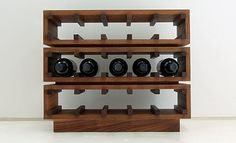 Full size of diy wooden pallet wine rack wall wood homemade plans easy cool design ideas Cool Wine Racks, Wine Racks For Sale, Wine Rack Shelf, Wine Rack Cabinet, Wine Rack Wall, Liquor Cabinet, Contemporary Wine Racks, Modern Wine Rack, Homemade Wine Rack