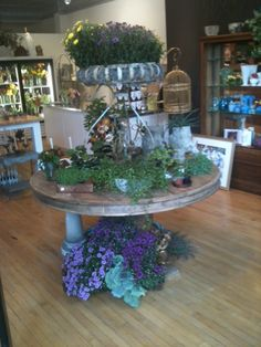 One of our beautiful displays in the store. Come by and see for yourself! #florist #LincolnPark