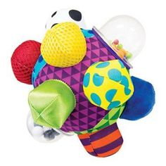 Sassy Developmental Bumpy Ball Months With Bright Colors, Bold Patterns, and Easy To Grasp Bumps To Help Developing Baby's Motor Skills Worry Free Baby Lego Ninjago, Shops, Developmental Toys, Baby Play, Toddler Toys, Toddler Learning, Toddler Fun, Kids Toys, Baby Toys