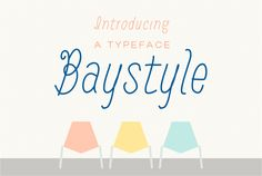 Baystyle typeface by Ekloff on Creative Market