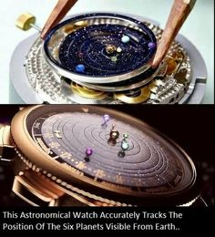 Astronomical watch.