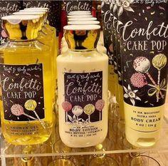 Bath N Body Works, Bath And Body Works Perfume, Fragrance Lotion, Body Soap, Body Lotion, Girly, Smell Good, Body Care, Confetti Cake