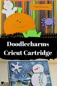 Doodlecharms Cricut Cartridge - P.S. I Love You Crafts
