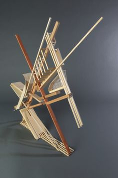 Ex_Conceptacle Example 04 Kinetic Architecture, Concept Models Architecture, Architecture Design, Geometric Sculpture, Abstract Sculpture, Sculpture Art, Sculpture Projects, Form Design, Design Model