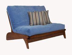 Dillon Warm Cherry Twin Chair Futon Frame By Strata Furniture 351 49