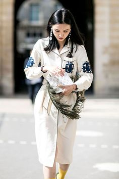 ❤ #street #fashion #snap from  www.emfashionfiles.com