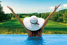 Entspannt, gesund und fit in den Frühling - die schönsten Wellnessresorts - SPAworld Ayurveda, Wellness, Yoga, Fitness, Health, Nice Asses, Yoga Tips, Keep Fit, Health Fitness