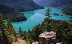 #Washington's Diablo Lake... b-e-a-utiful! #USA #PNW #PacificNorthwest