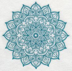 Mehndi Serenity (Vintage) Machine Embroidery Designs at Embroidery Library! -