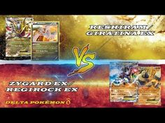 Pokémon TCG Online: Reshiram/Giratina EX vs. Zygard EX/Regirock EX - YouTube