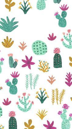 Cute-Cacti-Mobile-Wallpaper-_-thinkmakeshareblog.jpg 750×1,334 píxeles #IphoneBackgrounds