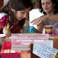 Aqui você encontra uma série de sugestões de brincadeiras no jantar para você tornar a refeição com a família numa ocasião memorável para as crianças.