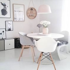 // S T U D I O G O A L S // ••••• Dreaming of a Nordic style office with lots of space and light ••••• Regram from @camillaathena ••••• #oneday #officespace #studiolife #studiodreams #interior #nordicinspiration #officeinspiration #decor #girlboss #bossbabe