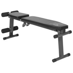 Gorilla Sports - Gyronetics E-Series Multi Incline Flat Bench Sit Up Bench
