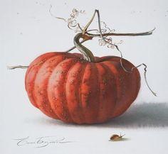 View album on Yandex. Botanical Drawings, Botanical Illustration, Botanical Prints, Pumpkin Tattoo, Pumpkin Art, Watercolor Fruit, Watercolor Paintings, Watercolours, Fruit Photography