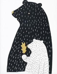 mama bear, baby bear