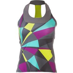 Moxie Cycling T-Back Jersey - Sleeveless - Women's Multi, L