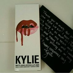 Lip Kit by Kylie Dolce K Lipkitbykylie Check for sales in my closet and discounted prices when bundling! This color is DOLCE K. New never used!  Kylie's lipkit lipkitbykylie Makeup Lipstick