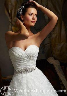 Bridal Belts and Sashes Mori Lee 11007 Bridal Belts and Sashes Image 1