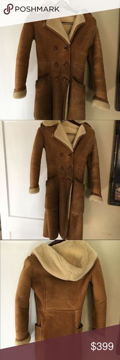Coats Shearling coat and Vintage on Pinterest