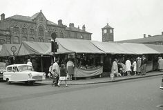Morecambe Market.   Poulton. Carrera, Porsche Sportwagen, Morecambe, Seaside Towns, Blackpool, My Memory, Lancaster, Old And New, Yorkshire