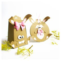 all good things come in threes - cute bunnies for easter #easter #ostern #box #hase #bunny