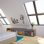 Home Wallpaper Design – Vinyl Revolution Banksy Jungle Book Execution Vinyl Wall Decal, Bedroom
