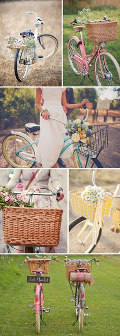 Classic Finds: Bicycles and Baskets